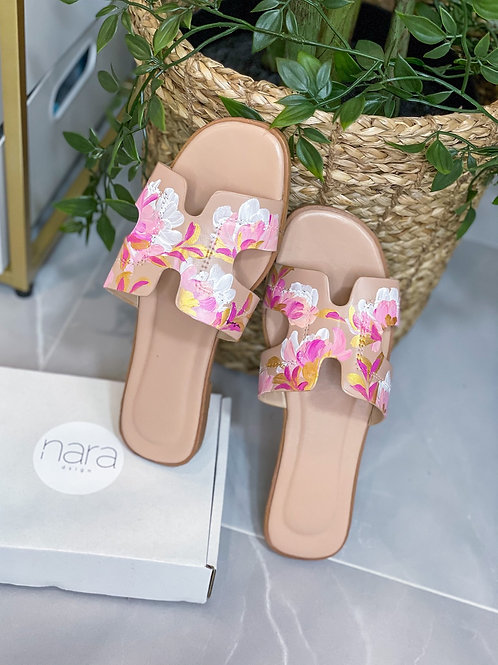 37 Helly Sandal:Nude Pink