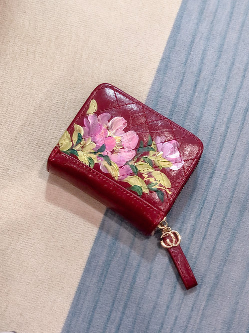 Wrist wallet Oct18: Red Peony