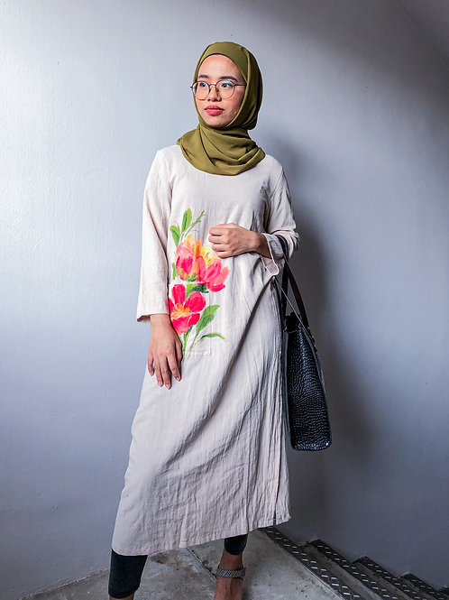 Rosie Cotton dress in size M 01