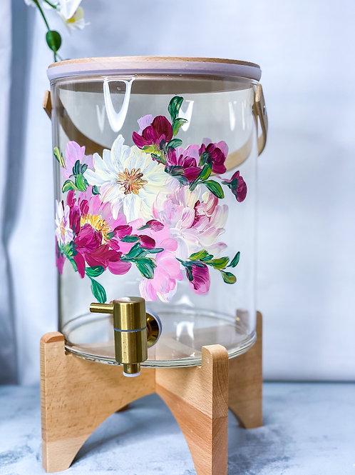 (7L) 01 Molly water dispenser: Mix florals +Gtap