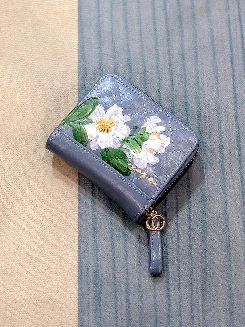 Wrist wallet Oct18: Blue
