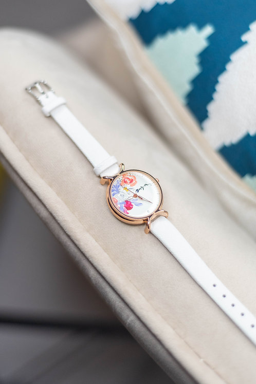 Roundy Leather strap 04 - White