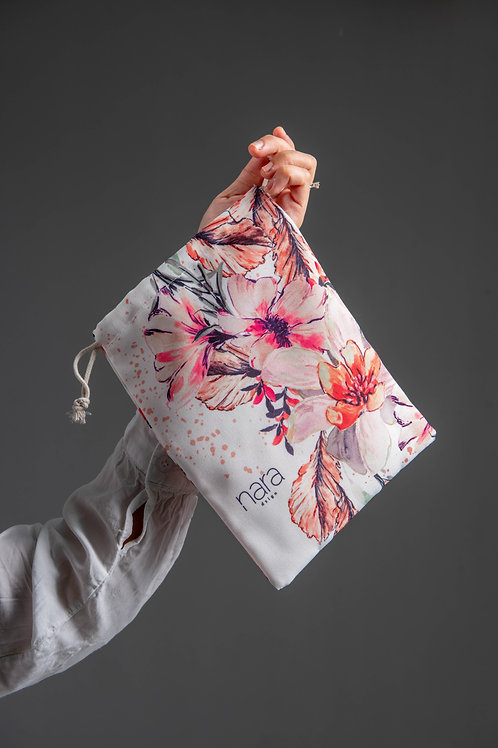 Winter Fleur - Smol Nara Drawstring Pouch