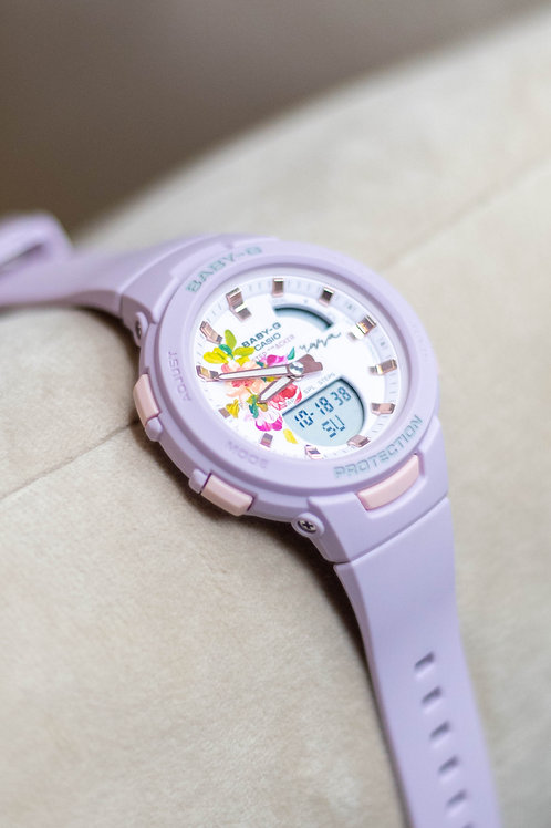 Casio BSA B100-Purple 01