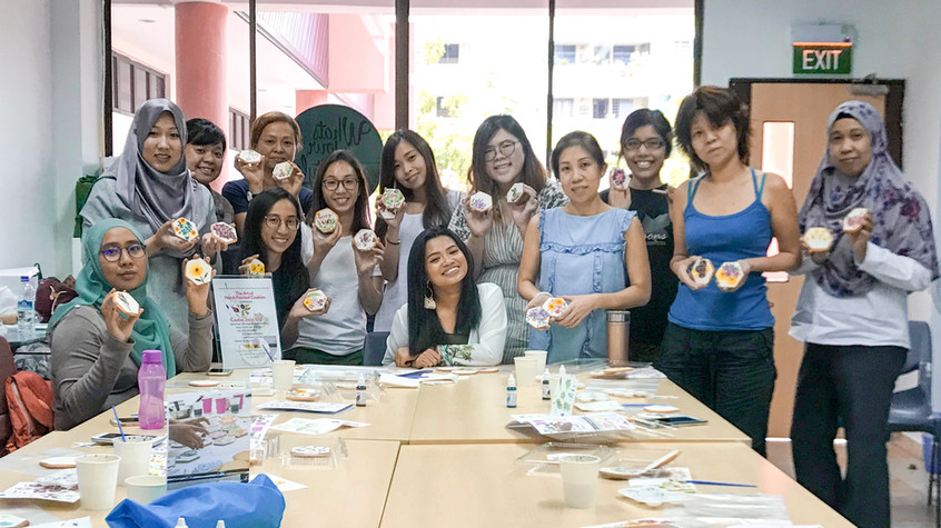 Handpainted Cookie workshop