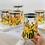 Thumbnail: Pre-Order Gold glass storage jar set of 6