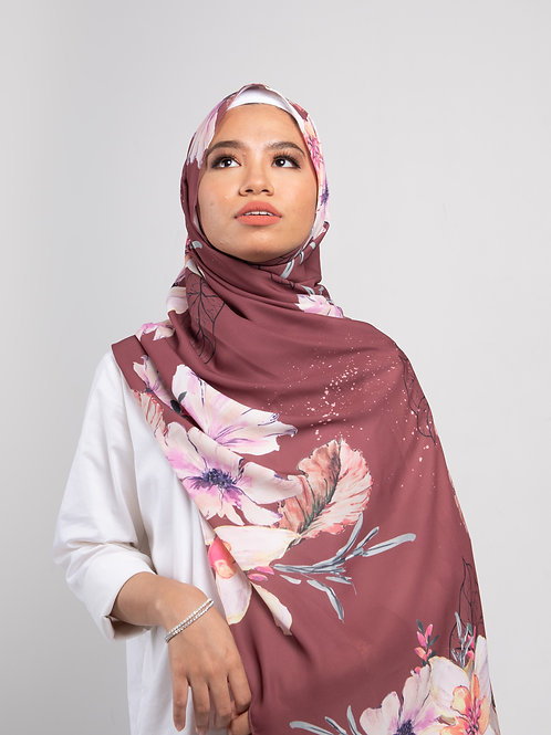 Winter fleur -Redish brown