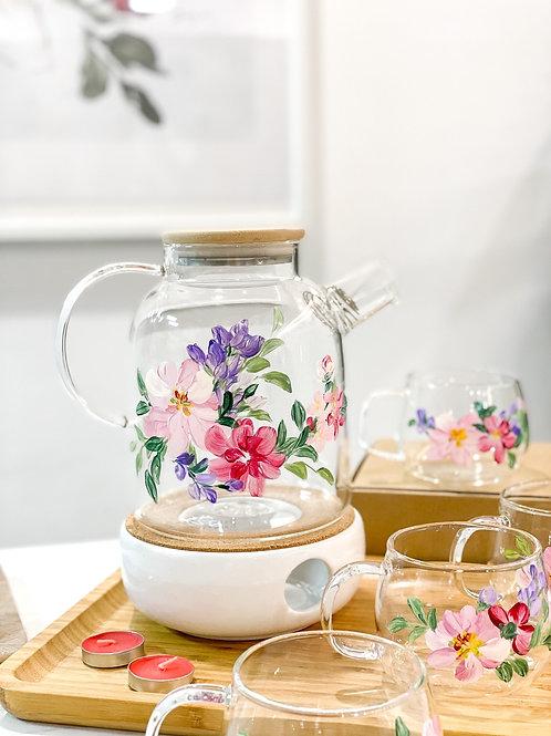 Oneisall jug set: Mix Florals