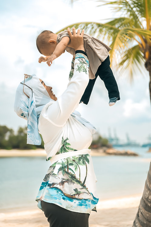 Beach -Kimono