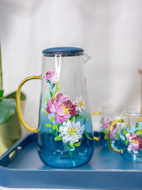 01 Le Blue jug set