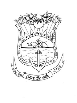 Custom Wedding Crest
