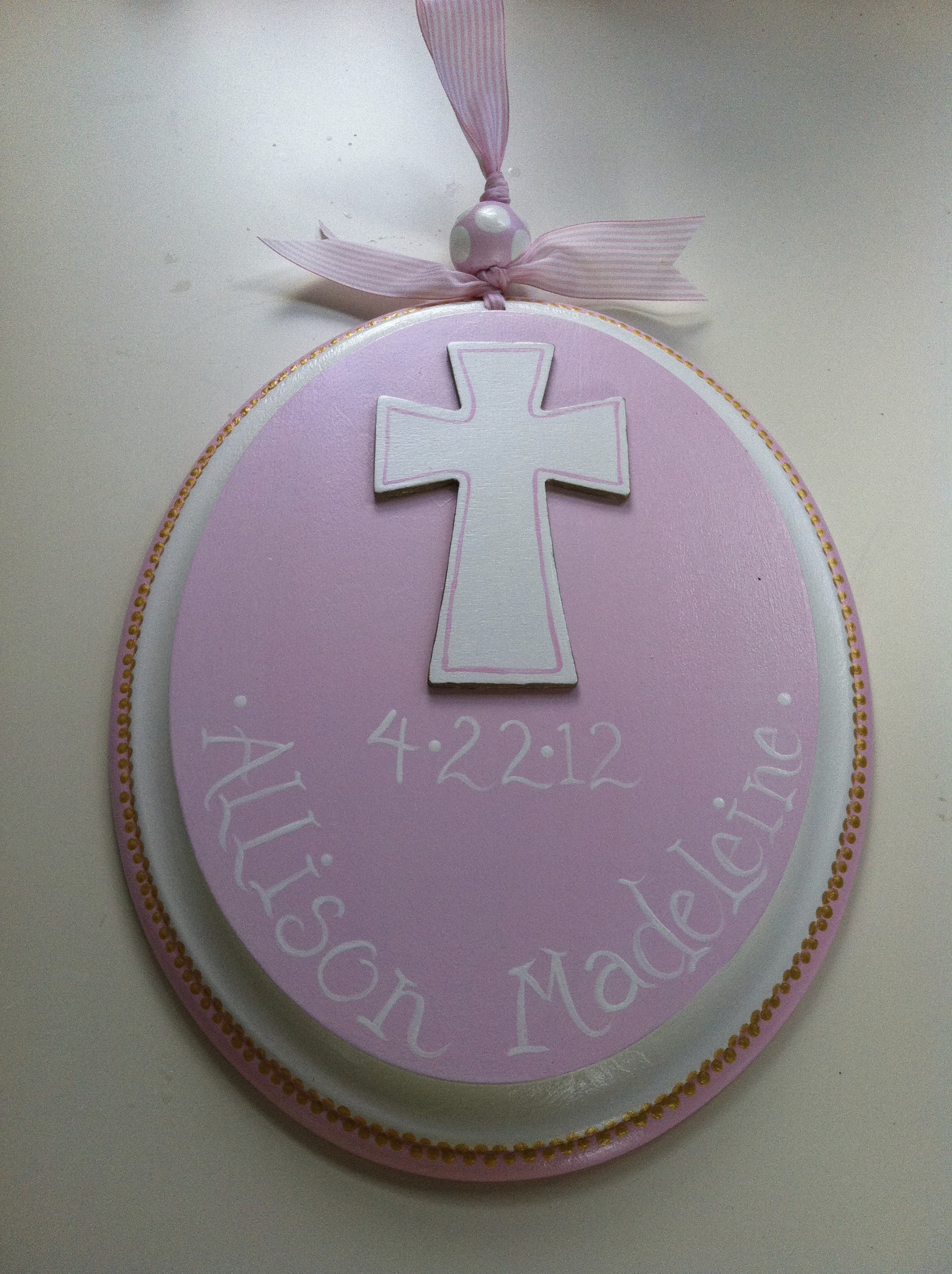 Baptism/Communion sign
