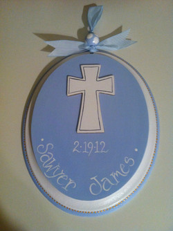 Baptism/Communion sign