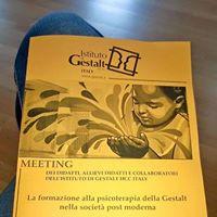 Meeting Istituto di Gestalt HCC Italy