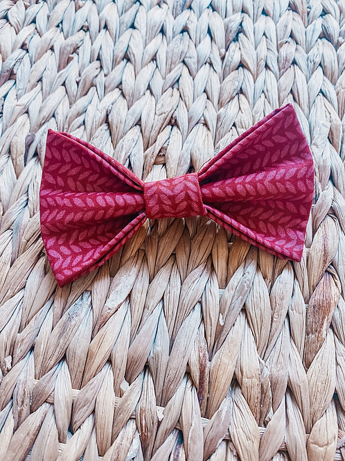 May Flowers Bow Tie