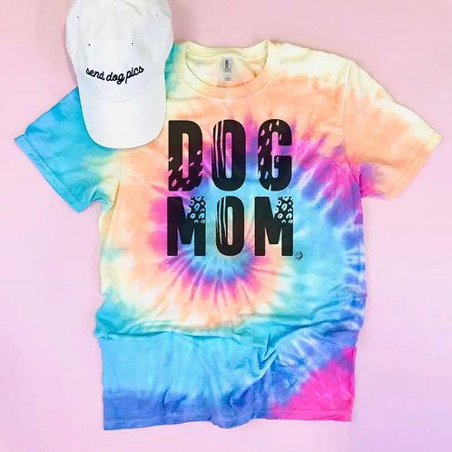 Pre-Order Tie-Dye Dog Mom Shirt