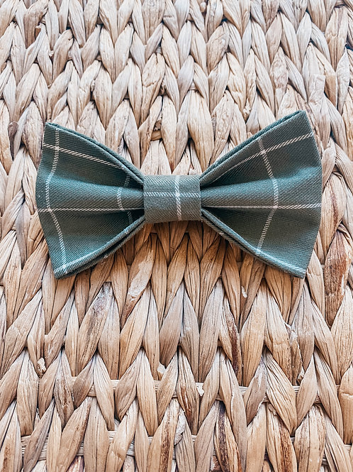 24 Carrot Green Bow Tie