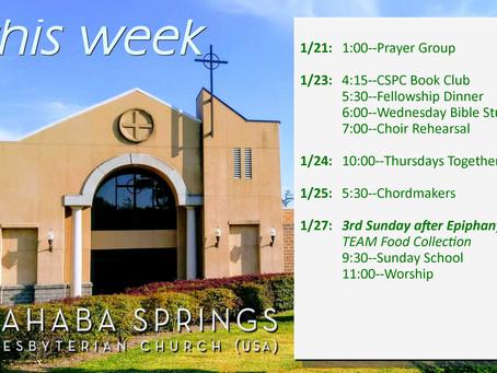 This Week @ CSPC