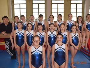 Compétition de Gymnastique Artistique Féminine