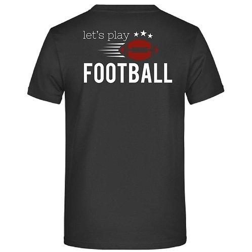 Football beidseitig bedruckt