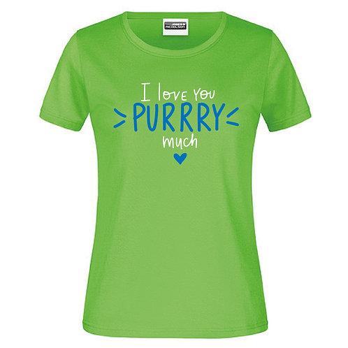I Love you purry