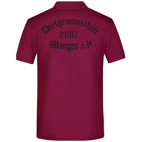 Polo Shirt hinten bedruckt und vorne mit Namen  möglich
