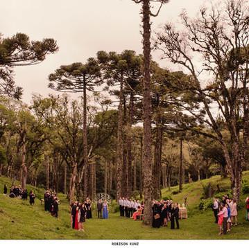 Altar de Casamento na Serra