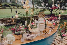 Mesa de Doces de Casamento