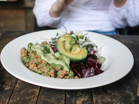 Quinoa with mint and Lime