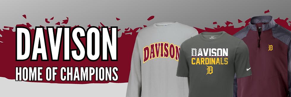 Davison Cardinals Spiritwear Shop