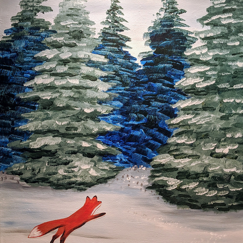 The Fox and the Pines