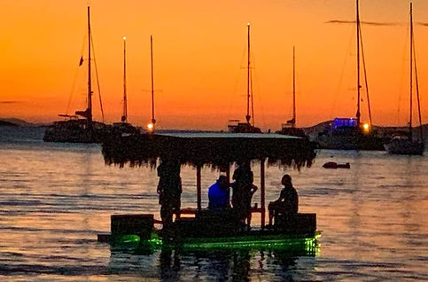 Sunset Dining - Honeymoon Beach - Water Island - USVI