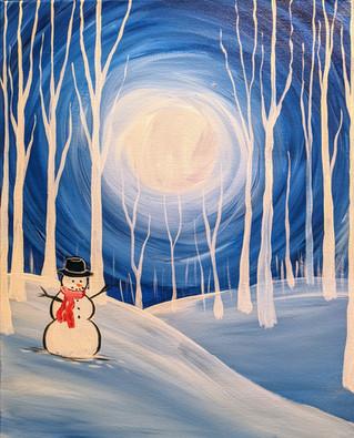 Frosty In Da Moonlight