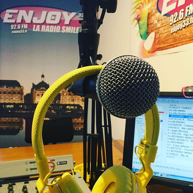 Good #Morning #day #friday avec #Enjoy33 #radio #bordeauxmaville #latino #groove #dance #smile