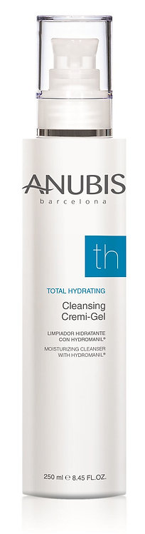 Anubis Total Hydrating Cleansing Cremi-Gel / Tüm ciltler için krem temizleme jeli250ml.