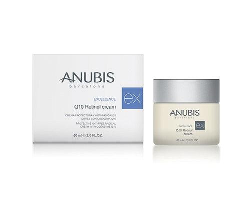 Anubis Excellence Q10 Retinol Cream/ Yenileyici ve yapılandırıcı bakım kremi60ml.