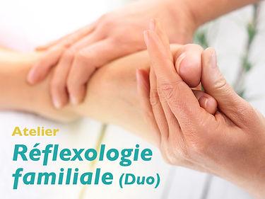 Atelier réflexologie familiale - Nathalie Thouly