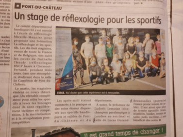 Stage sportif 2020_presse