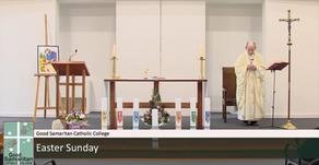Community joins in spirit for Easter