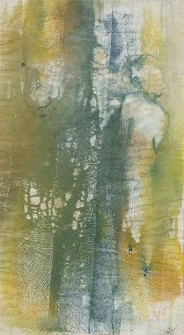 Forest Walk (watercolour and gouache on rice paper) © Elizabeth Young