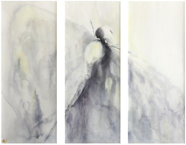 Freedom (watercolour) © Elizabeth Young