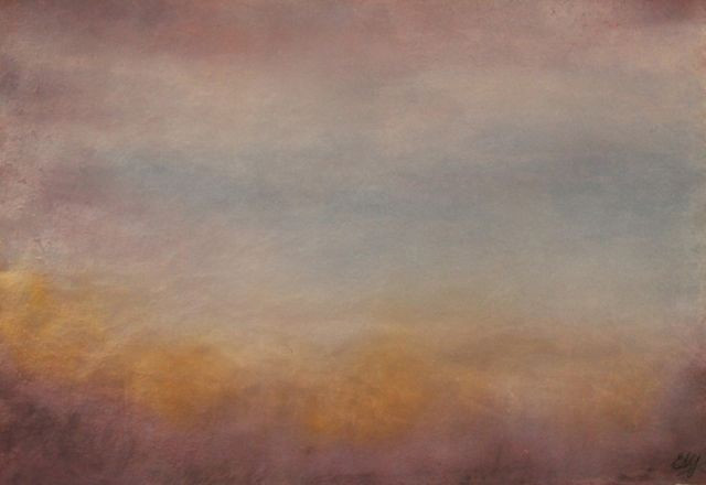 Field of Dreams (gouache) © Elizabeth Young