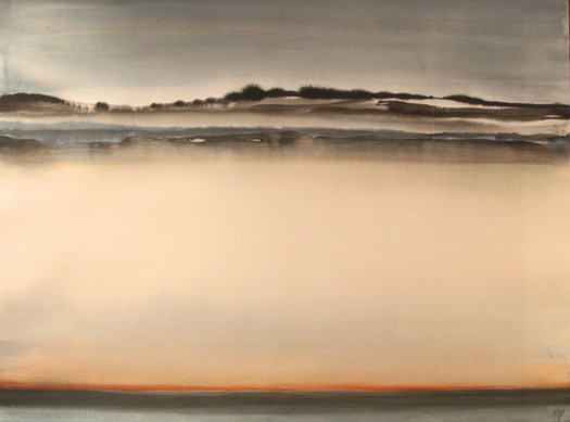 Misty (gouache) © Elizabeth Young