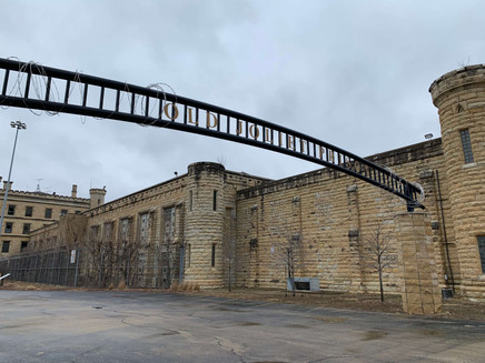 Front gate. Chicago and Movies in Prison.