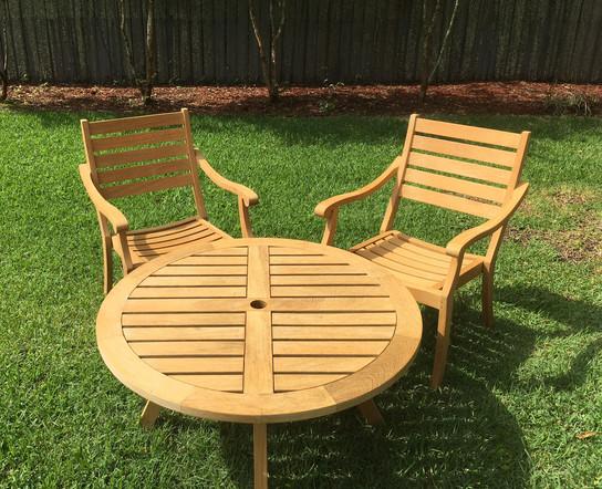 Teak Outdoor Furniture Set