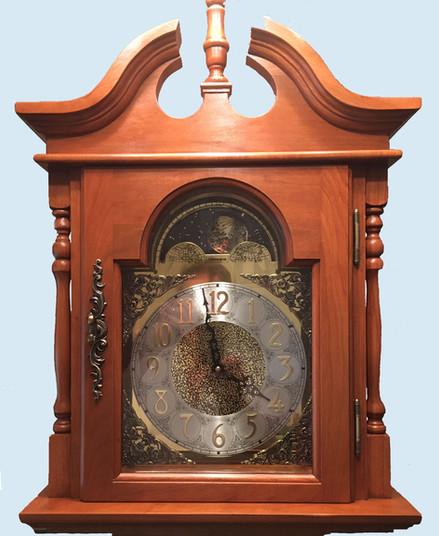 Emperor Grand Father Cherry Clock