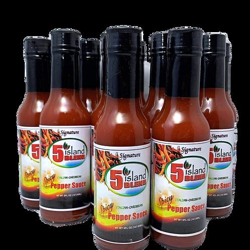 12 Bottles Spicy Signature Pepper Sauce