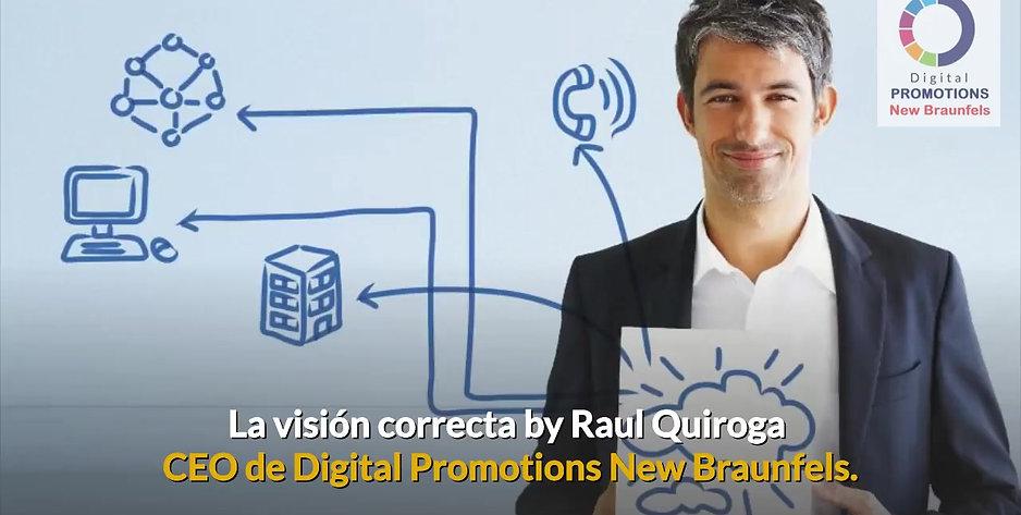 La visión correcta by Raul Quiroga