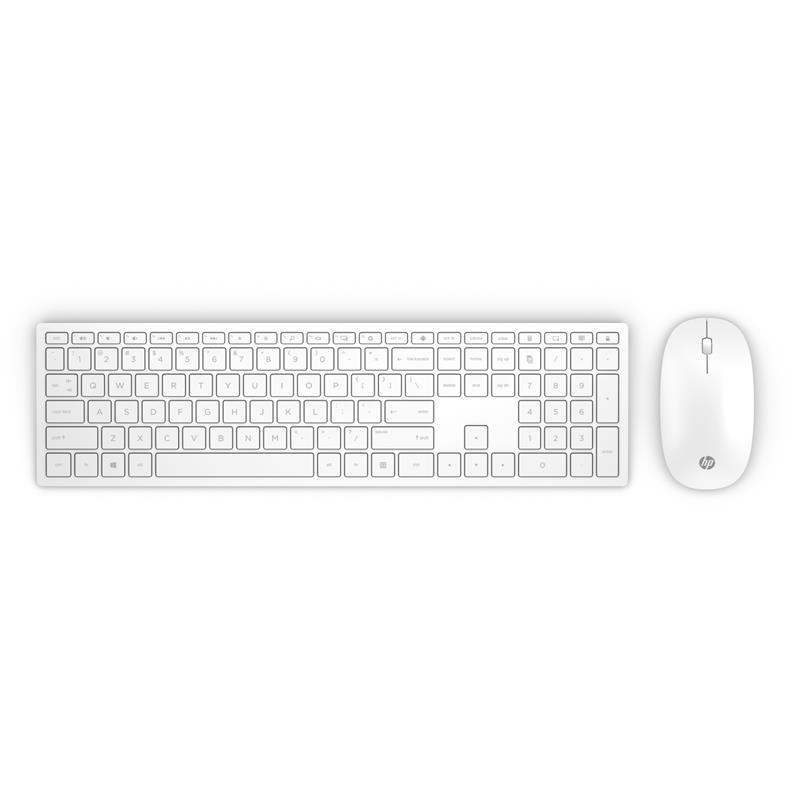 HP Wireless Keyboard White