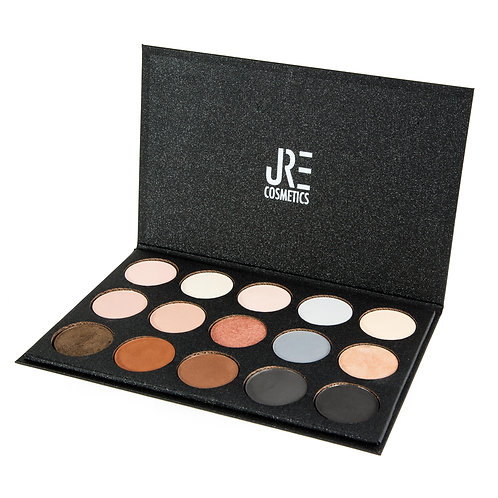 "PALETA DE SOMBRAS ""BASIC BROWN GLAM"""